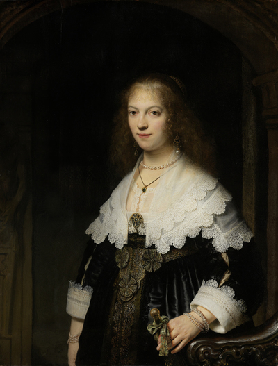 Image from object titled Portrait of a Woman, Possibly Maria Trip