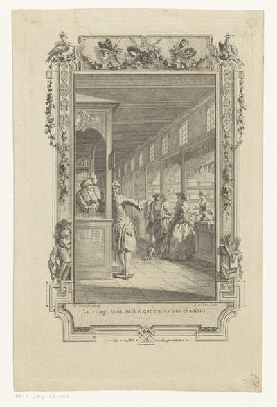 Galerij van het Paleis van Justitie te Parijs