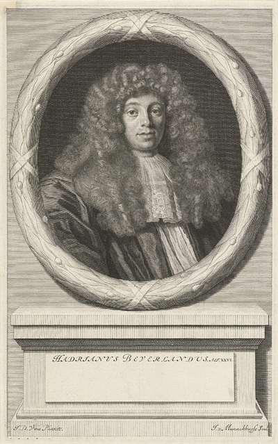 Portret van Adrianus Beverland