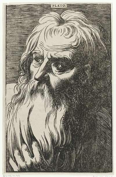 Portret van Plato