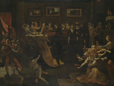 Image from object titled Night Banquet and Masquerade