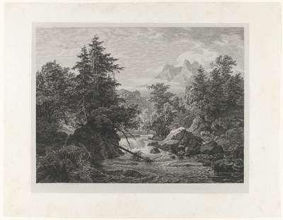 Riviergezicht in het noorden van Tirol