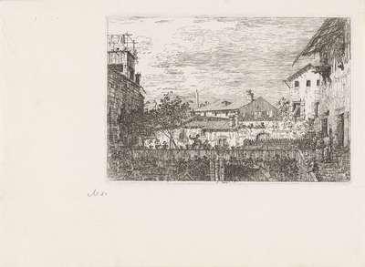 Terras; Gezichten op bestaande en verzonnen plaatsen; Vedute altre prese da i Luoghi altre ideate da Antonio Canal