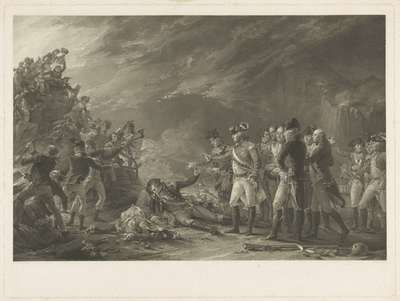 """""""The Sortie, made by the Garrison of Gibraltar in the Morning of the 27 of November 1781."""""""