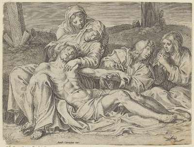 Bewening van Christus; Christus van Caprarola