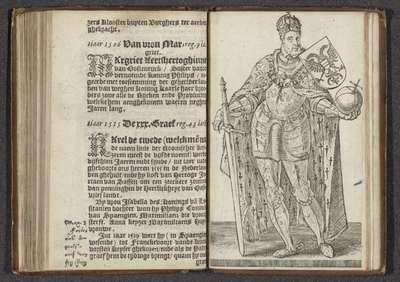 Karel de V; Affkomst ende korte historie der graven van Hollandt Zeelandt ende Vrieslandt; Graven en gravinnen van Holland