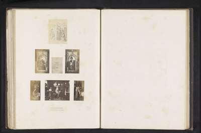 Zeven fotoreproducties van een publicatie door de Arundel Society met schilderijen van Hans Memling
