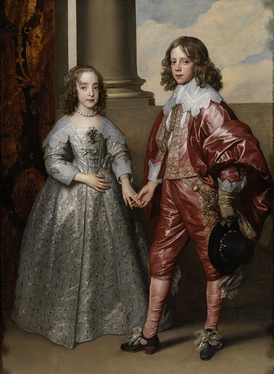 Image from object titled William II, Prince of Orange, and his Bride, Mary Stuart