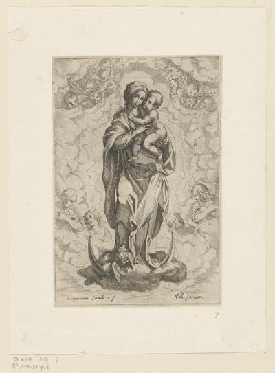 Maria met Kind op maansikkel
