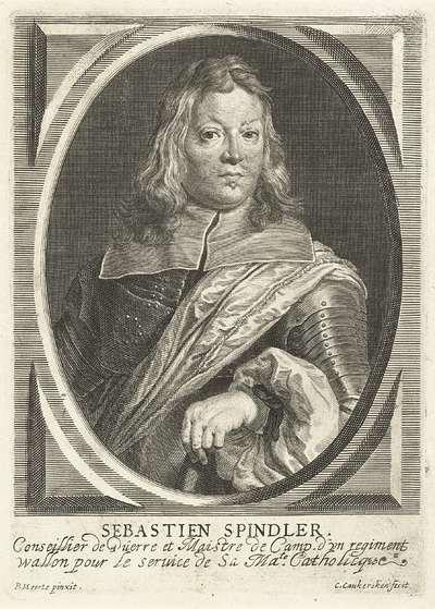 Portret van Sebastien Spindler