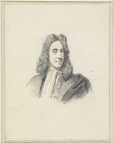 Portret van Dirk Maes