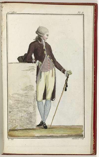 Cabinet des Modes ou les Modes Nouvelles, 15 Septembre 1786, pl. II