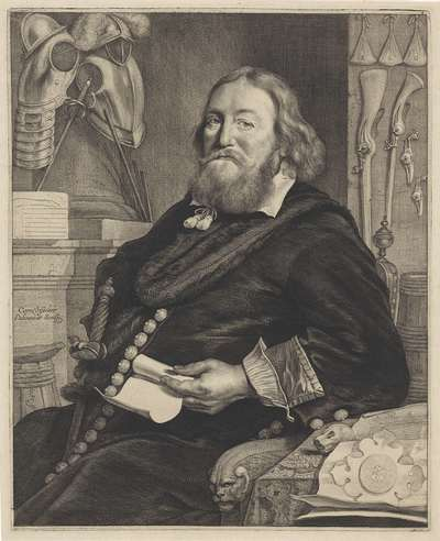 Portret van Andreas Deonyszoon Winius