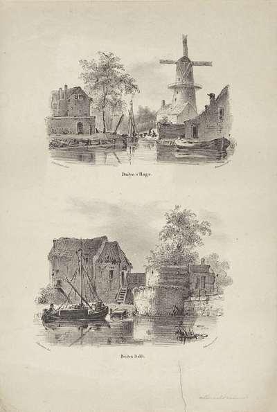 Twee gezichten op Den Haag en Delft