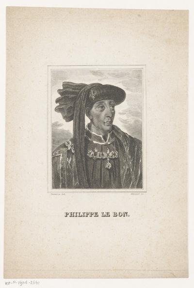 Portret van Filips de Goede; Philippe le Bon
