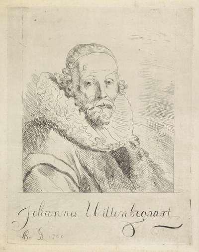 Portret van Johannes Wtenbogaert