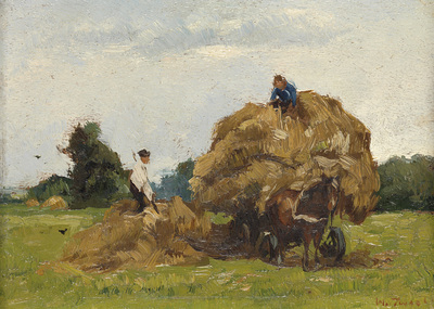 Image from object titled Hay Wagon