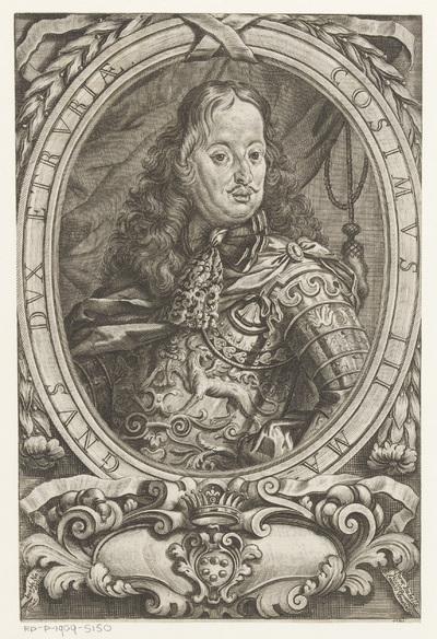 Portret van groothertog Cosimo de' Medici II