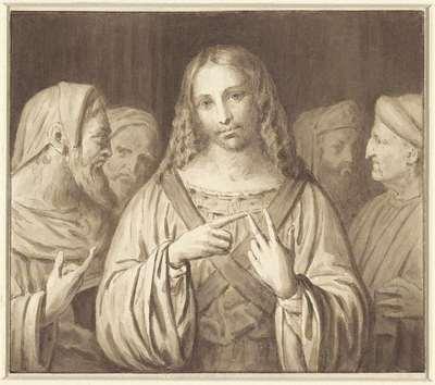 De jonge Christus tussen de schriftgeleerden