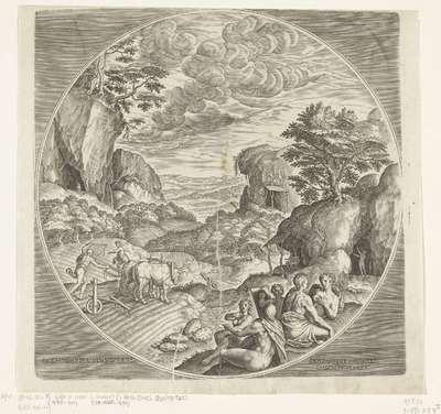 Zilveren eeuw; Argentevm Saecvlvm; De vier tijdperken