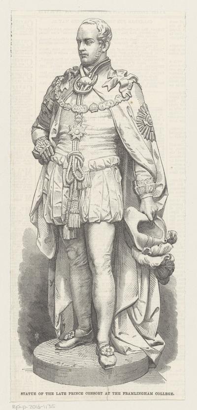 Portret van Albert, prins van Saksen-Coburg en Gotha