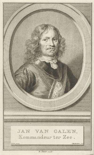 Portret van Johan van Galen; Jan van Galen