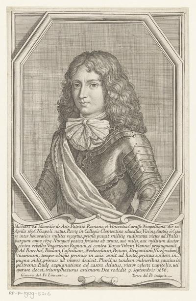 Portret van Michele, baron van Asti