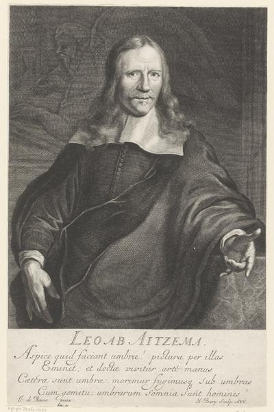 Portret van Lieuwe van Aitzema