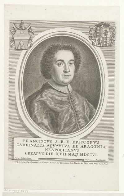 Portret van kardinaal Francesco Acquaviva d'Aragona