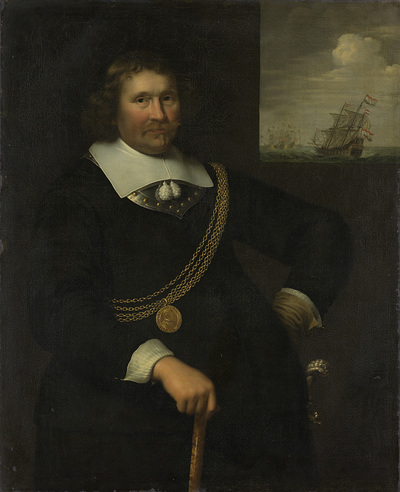 Image from object titled Portrait of Jan Cornelisz Meppel, Lieutenant-Admiral of Holland and West-Friesland