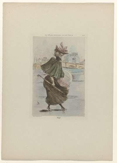 Les Modes Féminines du XIXe Siècle, 1893, Pl. 93