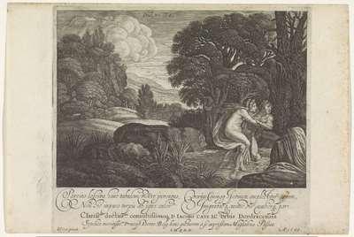 Salmacis en Hermaphroditus; Metamorfosen van Ovidius