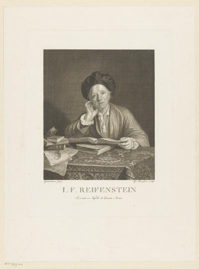 Portret van I.F. Reifenstein