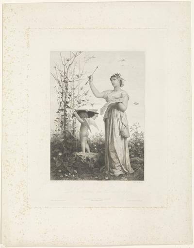 Allegorische verbeelding van de lente; Le Concert du Printemps