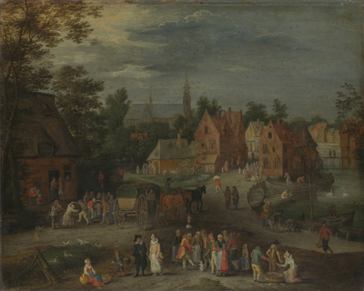 Image from object titled Flemish Village