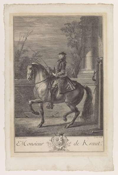 Ruiterportret; Monsieur de Kraut