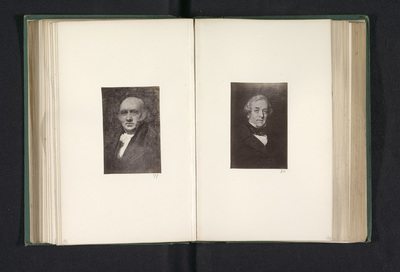 Fotoreproductie van een schilderij, voorstellende een portret van Robert Cleghorn