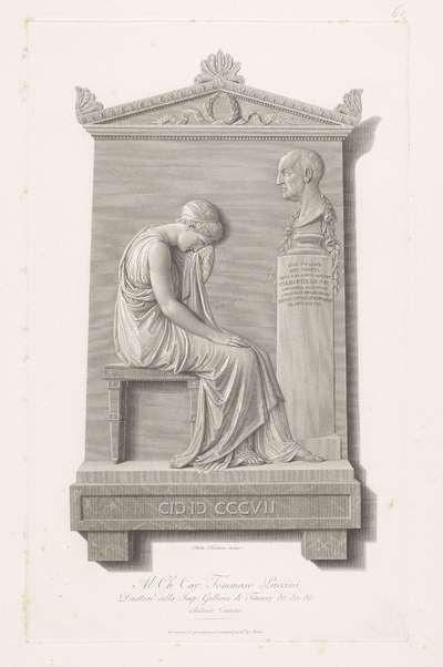 Grafstèle van Giovanni Volpato