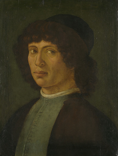 Image from object titled Portrait of a Young Man