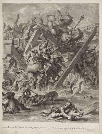 Veldslag tussen Constantijn en Maxentius (rechter blad)