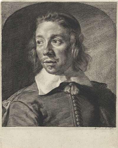 Portret van Johannes de Paep