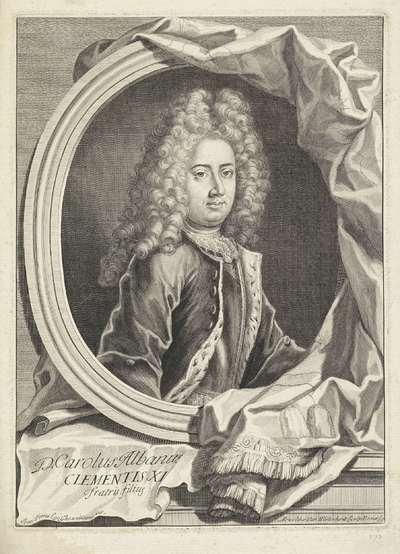 Portret van Carlo Albani