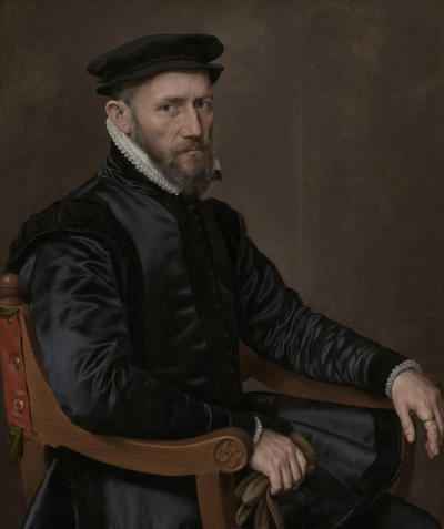 Image from object titled Portraits of Sir Thomas Gresham and Anne Fernely