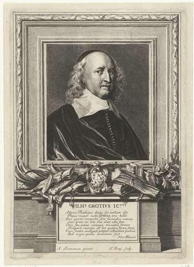 Portret van Willem de Groot
