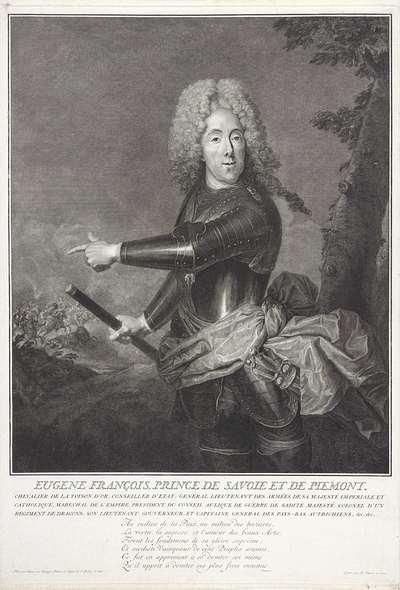 Portret van Eugenius van Savoye