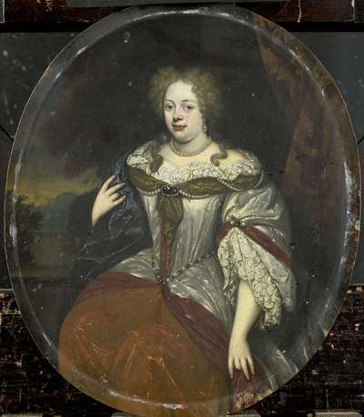 Image from object titled Portrait of Frouck, Barones van Aylva, Wife of Hans Willem van Aylva after 1658