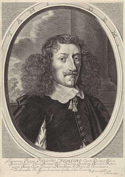 Portret van Filips Willem van de Palts