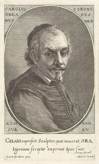 Portret van Carolus Celanus