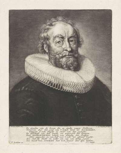 Portret van Andries Bicker