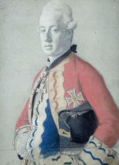 Image from object titled Portret van aartshertog Maximiliaan Franz van Oostenrijk (1756-1801), later aartsbisschop en keurvorst van Keulen en prins bisschop van Münster